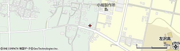 山形県西村山郡大江町小見80周辺の地図