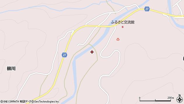 山形県西村山郡大江町柳川306周辺の地図