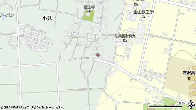山形県西村山郡大江町小見201周辺の地図