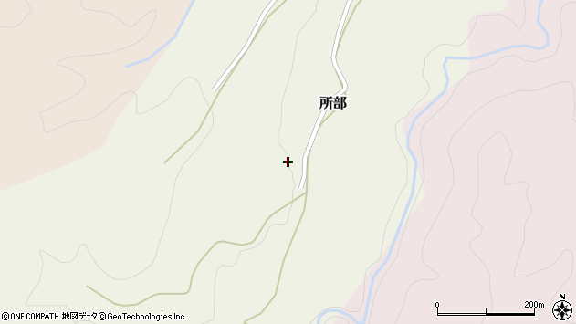 山形県西村山郡大江町所部176周辺の地図