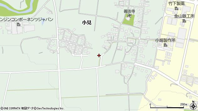 山形県西村山郡大江町小見301周辺の地図
