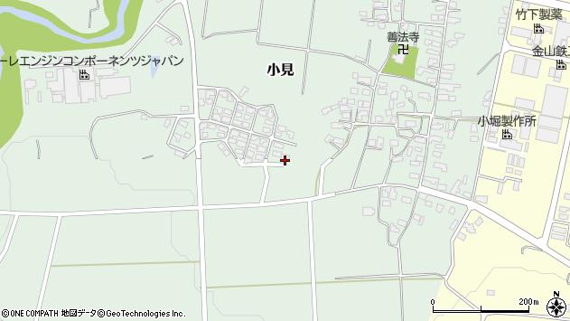山形県西村山郡大江町小見501周辺の地図