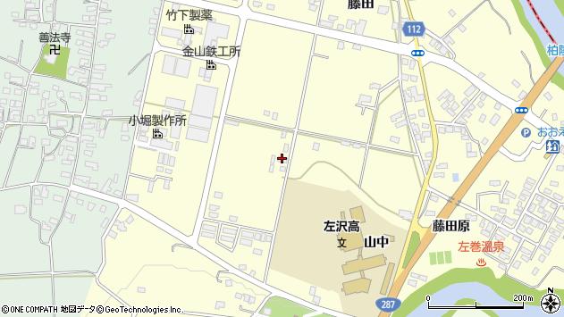 山形県西村山郡大江町藤田570周辺の地図