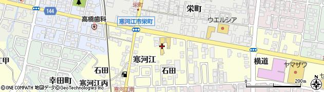 山形県寒河江市寒河江石田28周辺の地図