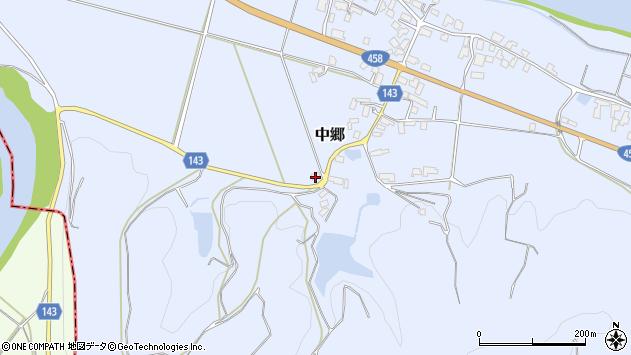 山形県寒河江市中郷1091周辺の地図