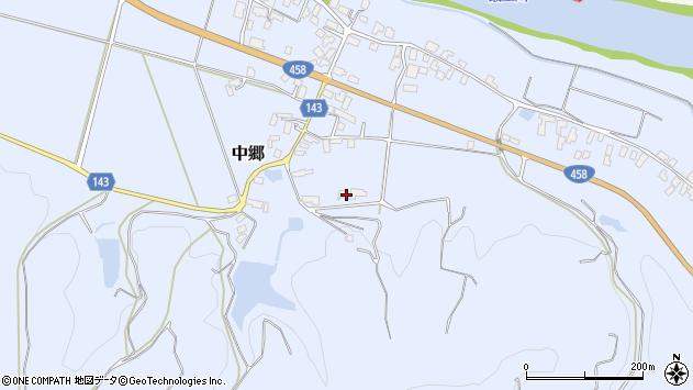 山形県寒河江市中郷656周辺の地図