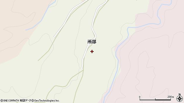 山形県西村山郡大江町所部154周辺の地図