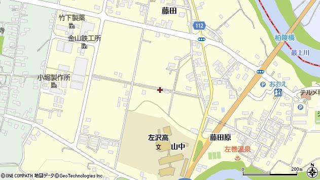 山形県西村山郡大江町藤田529周辺の地図