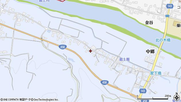 山形県寒河江市中郷531周辺の地図
