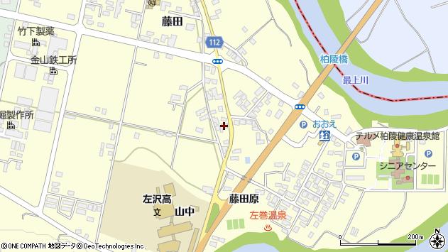 山形県西村山郡大江町藤田369周辺の地図
