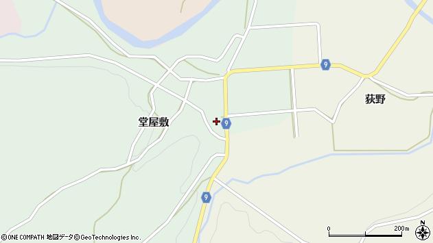 山形県西村山郡大江町堂屋敷36周辺の地図