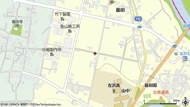 山形県西村山郡大江町藤田569周辺の地図