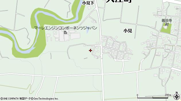 山形県西村山郡大江町小見679周辺の地図