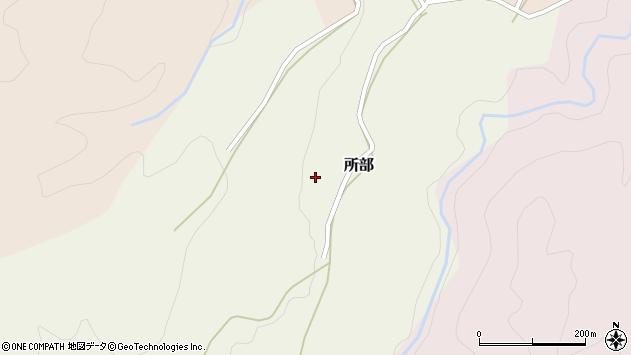 山形県西村山郡大江町所部130周辺の地図