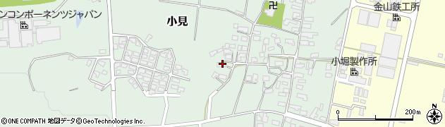 山形県西村山郡大江町小見299周辺の地図
