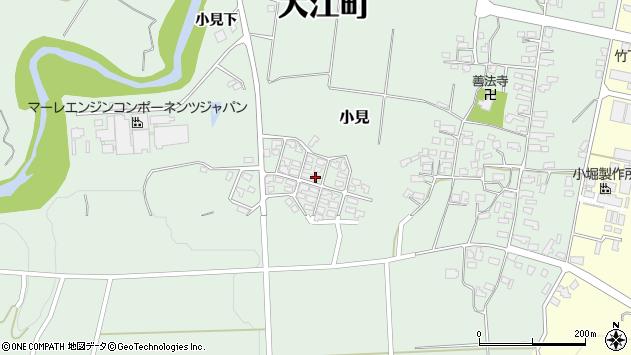 山形県西村山郡大江町小見500周辺の地図