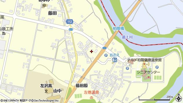 山形県西村山郡大江町藤田200周辺の地図
