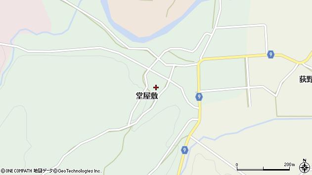 山形県西村山郡大江町堂屋敷49周辺の地図