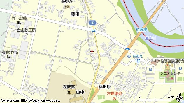 山形県西村山郡大江町藤田783周辺の地図