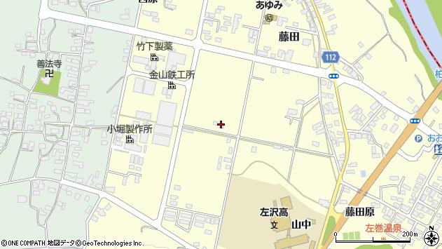 山形県西村山郡大江町藤田877周辺の地図