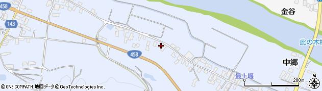 山形県寒河江市中郷536周辺の地図