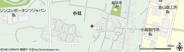 山形県西村山郡大江町小見298周辺の地図