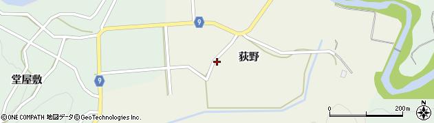 山形県西村山郡大江町荻野59周辺の地図