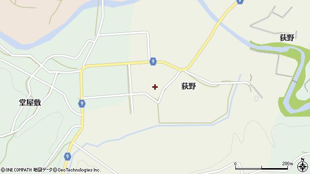 山形県西村山郡大江町荻野51周辺の地図
