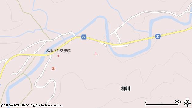 山形県西村山郡大江町柳川159周辺の地図
