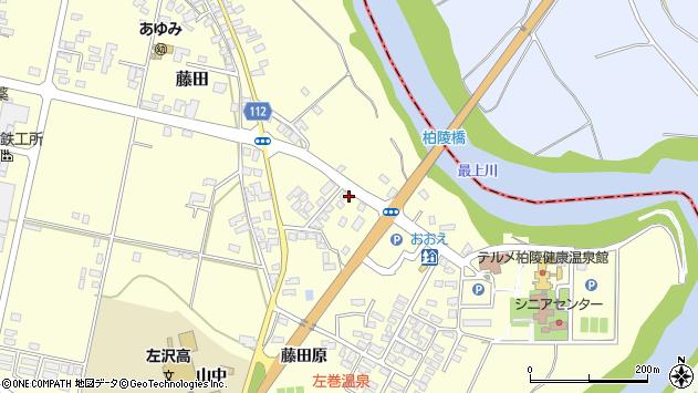 山形県西村山郡大江町藤田197周辺の地図