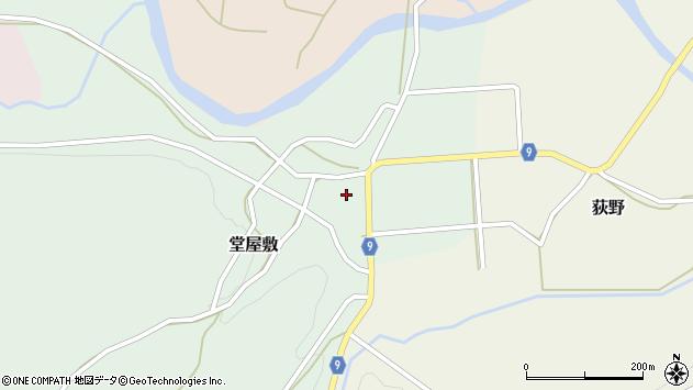 山形県西村山郡大江町堂屋敷40周辺の地図
