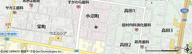 山形県寒河江市小沼町20周辺の地図