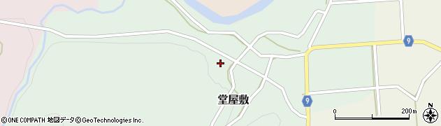山形県西村山郡大江町堂屋敷143周辺の地図