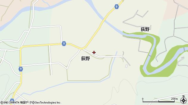 山形県西村山郡大江町荻野87周辺の地図