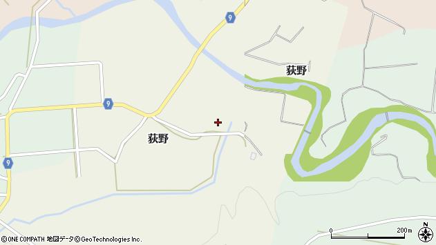 山形県西村山郡大江町荻野128周辺の地図