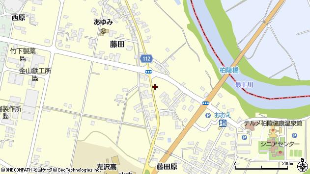 山形県西村山郡大江町藤田707周辺の地図