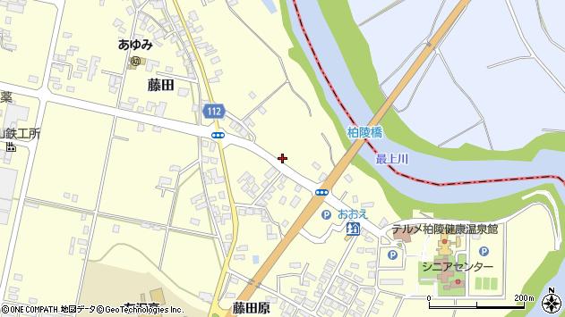 山形県西村山郡大江町藤田188周辺の地図