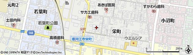山形県寒河江市栄町5周辺の地図