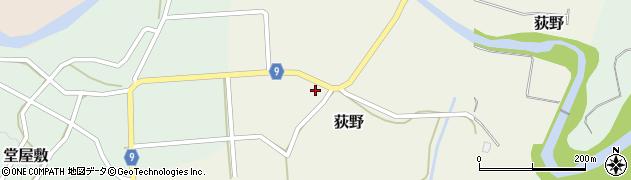 山形県西村山郡大江町荻野219周辺の地図
