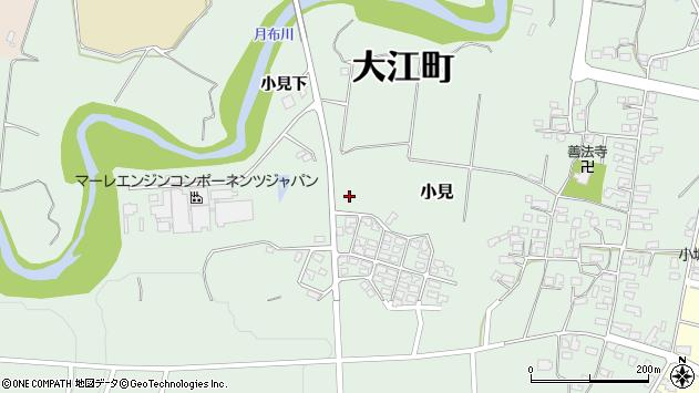 山形県西村山郡大江町小見774周辺の地図