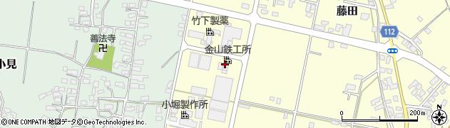 山形県西村山郡大江町藤田747周辺の地図