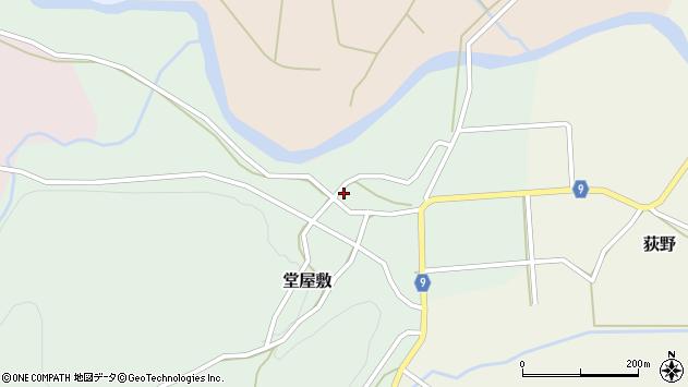 山形県西村山郡大江町堂屋敷59周辺の地図