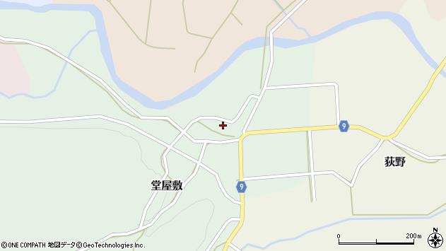 山形県西村山郡大江町堂屋敷66周辺の地図