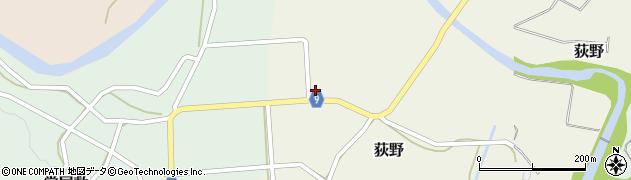 山形県西村山郡大江町荻野202周辺の地図