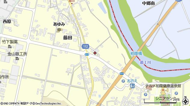 山形県西村山郡大江町藤田142周辺の地図