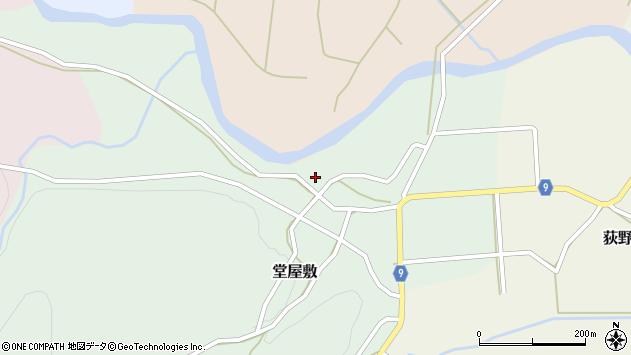 山形県西村山郡大江町堂屋敷82周辺の地図