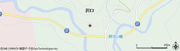 山形県西村山郡大江町沢口72周辺の地図