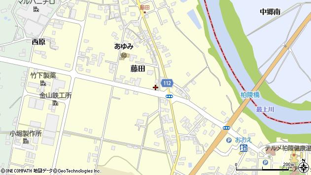 山形県西村山郡大江町藤田379周辺の地図
