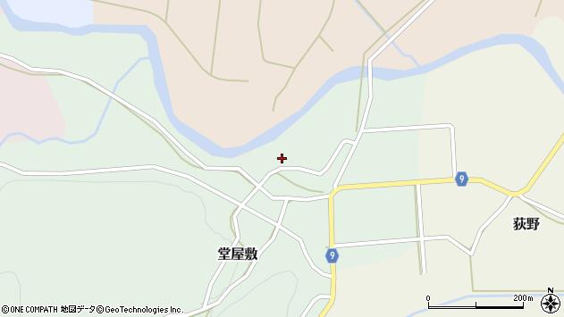 山形県西村山郡大江町堂屋敷77周辺の地図