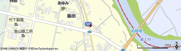 山形県西村山郡大江町藤田701周辺の地図